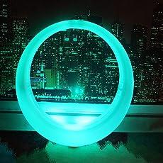 MAG.AL Multi RGB Farbwechsel Wasserdichte LED Schaukel Indoor Outdoor Unterhaltung Lounge Chair Von Batteriebetrieben