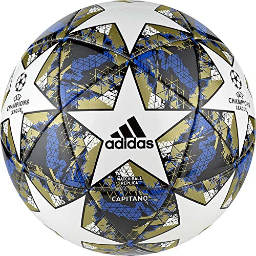 adidas Fussball UCL Finale 2019 Capitano White/Football Blue/Black/Gold met. 4