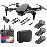 Wifi FPV Drone voor Volwassenen Kinderen, Opvouwbare FPV-Drone met 1080p 4k Hd-Camera Live Video voor Beginners, RC Quadcopte