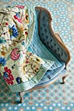 PiP Studio Floral Fantasy Decke | Ecru | 180 x 265 cm