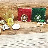 Sharplace 100pz Sacchetti Borse Autoadesiva Per Biscotto Caramelle Regalo Di Natale