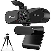 ARVIEMI Webcam - 2021 Streaming 1080P Full HD Web Camera con Microfono, Webcam con la Privacy e Treppiede Videocamera…