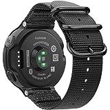 Fintie Armband compatibel met Garmin Forerunner 235/220/230/620/630/735XT smartwatch - nylon horlogeband, verstelbaar, met ro