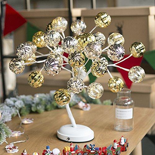 Dekorative Baum lampe Nachtlicht bestie Mädchen Mädchen besondere Geburtstagsgeschenk kreative Geschenke auf Laterne, weiße Kugel baum Lampe senden (Auf Ei Einem String)