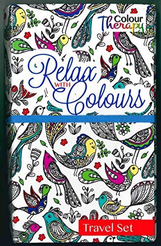 Libro Da Colorare Per Adulti Relax Con Modelli Di Set Da Viaggio