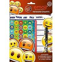 Anker International Childrens Wipe Clean Reward Charts With Stickers & Pen 3 Designs Weekly Planner