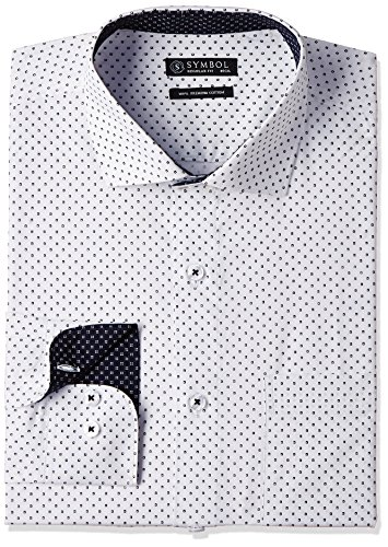 Symbol-Mens-Formal-Shirt-S17MBS11740White