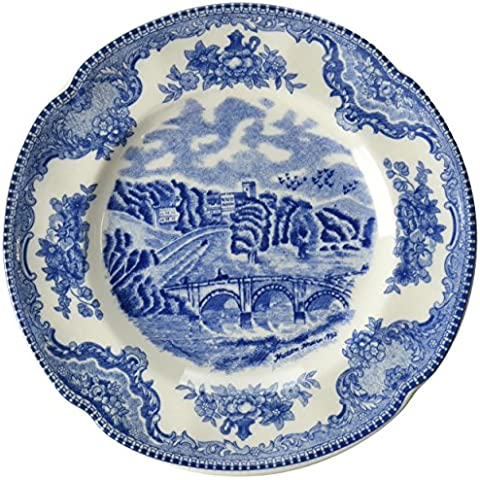 Johnson Brothers Old Britain Castles Blue Bread & Butter Plate,