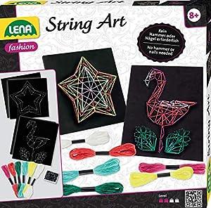 Simm Lena String Art Flamingo & Stern - Tanga, Multicolor