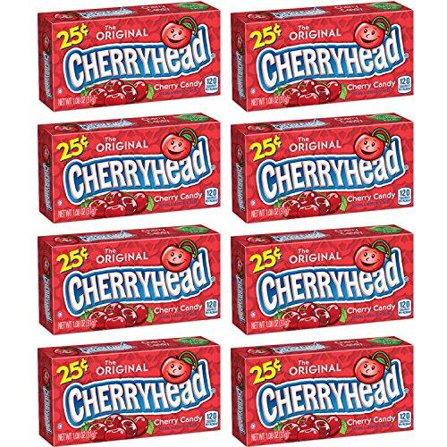 Ferrara Pan Cherryheads 1.08 Oz Each (Pack of 24)