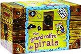 Mon grand coffre de pirate : Avec un bandeau, un chapeau, un crochet et des tatouages