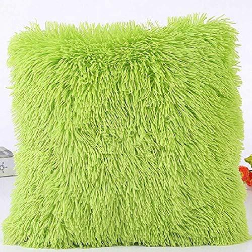 Pyc88 Weiche Plüsch Faux Pelz Großhandel dekorative Kissen Kissenbezug Kissen Kissen für Sofa Auto Stuhl Hotel Home Decoration 43x43cm/ Type 4 - Kissen Dekorative Auto