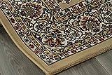 iovivo Web Teppich Täbriz mit aufwendigem Dessin beige, 80X300 CM