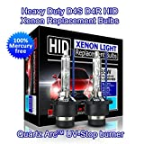 Heavy Duty D4S D4R HID Xenon sostituzione lampadine 35W High Low Beam (confezione da 2)