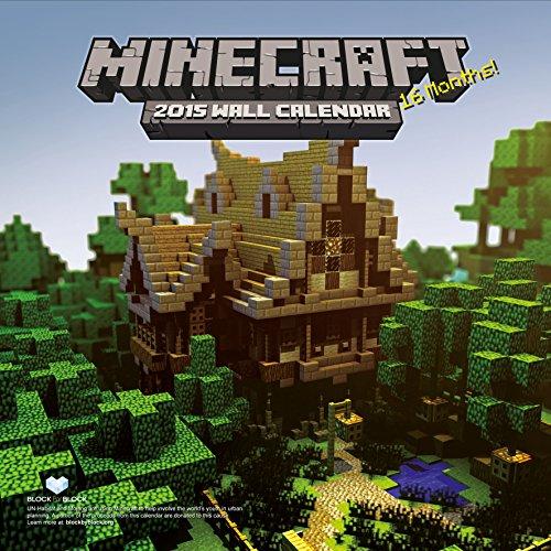 Official Minecraft 2015 Square (Calendars 2015)