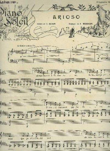 PIANO SOLEIL - N°1 DU 6 JANVIER 1901 : AMOUR D'AUTOMNE + IBERIA.