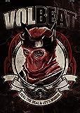 VOLBEAT - Red King Poster Plakat Bild