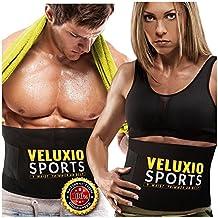 Veluxio Faja Reductora de Neopreno Adjustable para Hombres y Mujeres