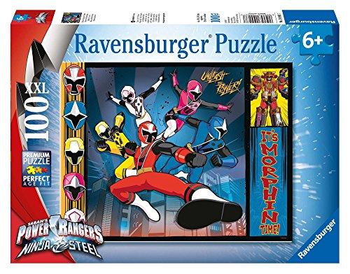 (Ravensburger 10993Power Rangers Ninja Stahl Puzzle–100Teile XXL)