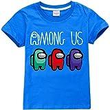Camiseta divertida para niños con personajes de impostor para niños y niñas