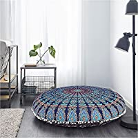 Mandala Floor Cushions are the perfect home decor piece to create a bright, unique (and extra comfy) space. Poufs are great to use as floor pillows around the house, also to use as watch TV or as an extra seat. Great as a Picnic, gift, holidays. This...