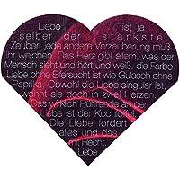 Räder - Tovaglioli di carta a forma di cuore con scritta in tedesco