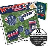 Liga-Apotheke für Leipzig-Fans | Saison-Notfall-Set zum Überraschen & Verschenken witzig verpackt, mit Schadenfreude gratis & Spaßgarantie inklusive