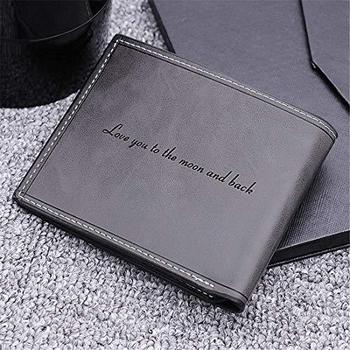 ca8074f45f Personnalisé Photo Portefeuille en Cuir Bourse Carte de Crédit Visite  Cadeau Saint Valentin pour Homme