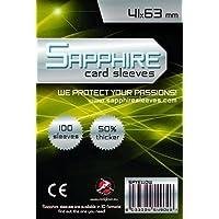 Red Glove 100 Sleeves Sapphire MINI USA 41x63 Bustine Protettive x Giochi da Tavolo