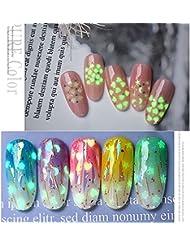 Schönheit & Gesundheit Nail Art Pailletten Ultradünne Glitter Flakes 3d Mixed Star Herz Runde Nagel Paillette Funkelnden Maniküre Dekorationen Nagelglitzer