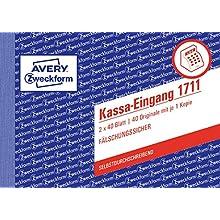 Avery Dennison Zweckform 1711 Cash Out A6 SD 2 x 40 feuilles