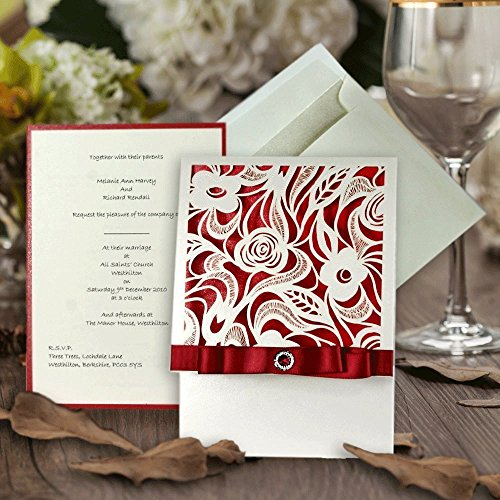 chloe-personalised-laser-cut-wedding-invitations-with-printed-inserts-in-a-pale-ivory-and-red-design