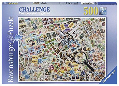 Ravensburger italy 14805 - ravensburger 14805 francobolli puzzle 500 pezzi