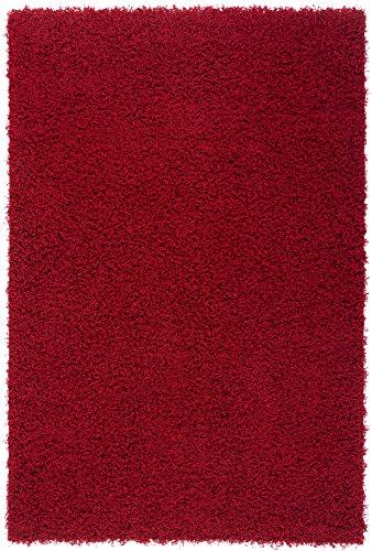 KADIMA DESIGN Moderner Designer Teppich My Funky 40 x 60 Bordeaux