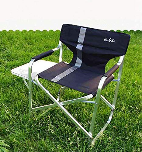 DCCYZ-YJ Aluminium Directors Klappstuhl mit Armlehne Camping Stuhl Angeln Stuhl Gartenstuhl