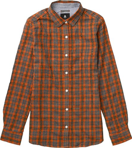 Burton Damen Hemd Wms Grace Longsleeve Woven, Hot Plaid, S, 11208101976 (Plaid Woven-sport-shirt)