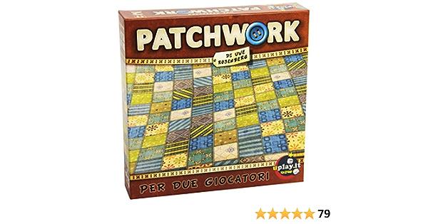 Patchwork Edizione Italiana Gioco Da Tavolo Per Due Giocatori Asmodee