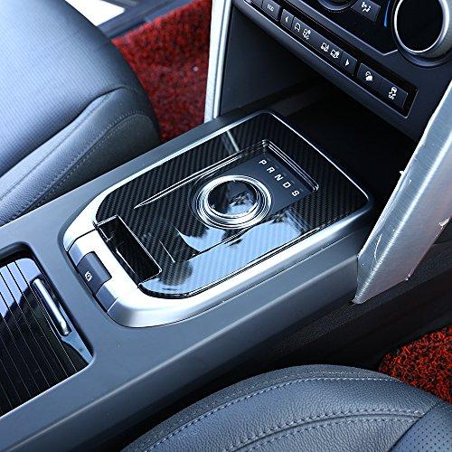 Preisvergleich Produktbild Für Discovery Sport Carbon Faser Luxus Innen Zubehör Gear Shift Cover Trim 1