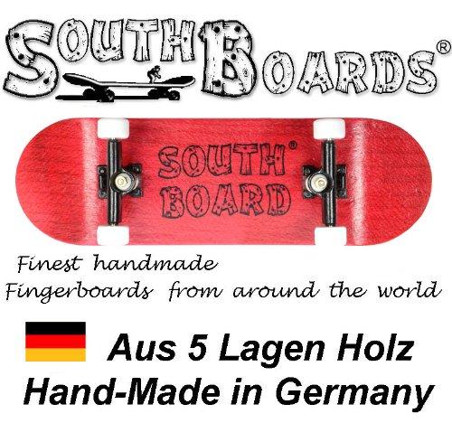 Komplett Fingerskateboard RT/SWZ/WS SOUTHBOARDS® Handmade Wood Fingerboard Echtholz