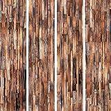 murando - PURO TAPETE - Realistische Holzoptik Tapete ohne Rapport und Versatz 10m Vlies Tapetenrolle Wandtapete modern design Fototapete - Holz f-A-0205-j-b