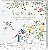 Ausmalbuch - Baby Shower - Zeit für dich: Mit inspirierenden Texten und Ausmalbildern Glücksmomente genießen (KreativGalerie)