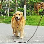 Dog Leash with 2 Handles, 1.9M Long Heavy Duty Handmade Leather Pet Dog Training Lead Leash for Running, Walking, Hiking… 13