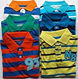 #5: Design Plus Kids Printed Cotton Tshirts Combo-Pack Of 6) 2-4Years)