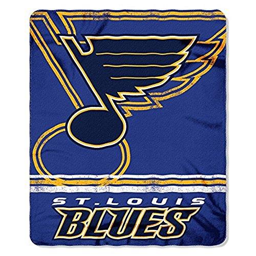The Northwest Company NHL Offizielles Lizenzprodukt St. Louis Blues Shadow Fleece Überwurf Decke (127x 152,4cm)