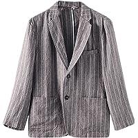 Icegrey Men's Casual Linen Suit Jacket Separate Coat