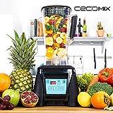qtimber Batidora de Vaso Cecomix Power Titanium Premium 4050 32 x 24 x 39.5 cm frullatore