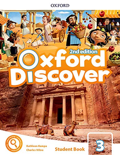 Oxford Discover 3 Class Book with App Pack 2nd Edition (Oxford Discover Second Edition)