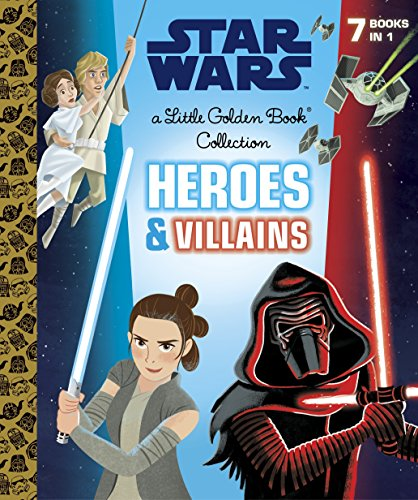 Heroes and Villains Little Golden Book Collection (Star Wars) (Little Golden Book Favorites)