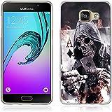 Coque Samsung Galaxy A5 (2016), Fubaoda [poker] artistique Série Peinture Étui TPU silicone élégant et sobre pour Samsung Galaxy A5 (2016) (A510)