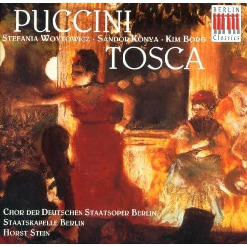 Tosca (Sung in German): Act I: Sehr gut zwar meint es Tosca - So ging sie? (Cavaradossi, Angelotti)